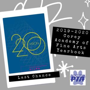 2019-2020 Corey Academy of Fine Arts Yearbook